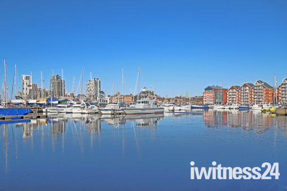 Monday morning at the Water Front Ipswich