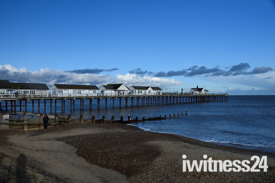 Chilly Sunday Southwold