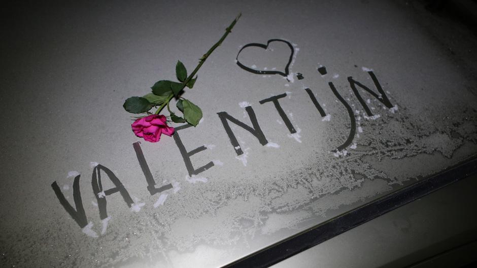 Valentijnsdag-vorst !