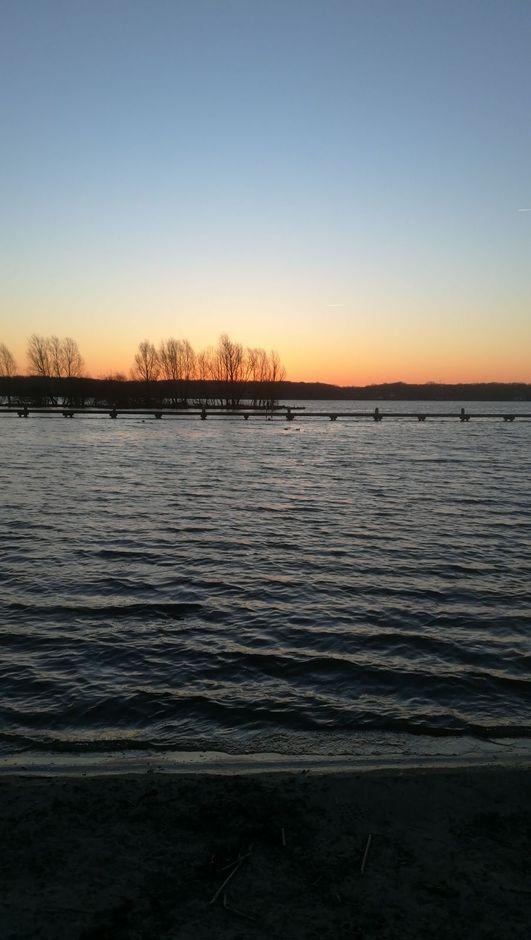 Rotterdams zonsopgang