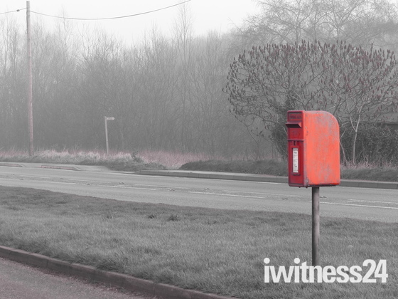 SOMETHING RED. LETTER BOX