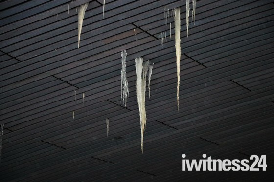 Crying Icicles Instead Of Tears