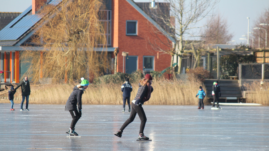 De laatste dag op schaats
