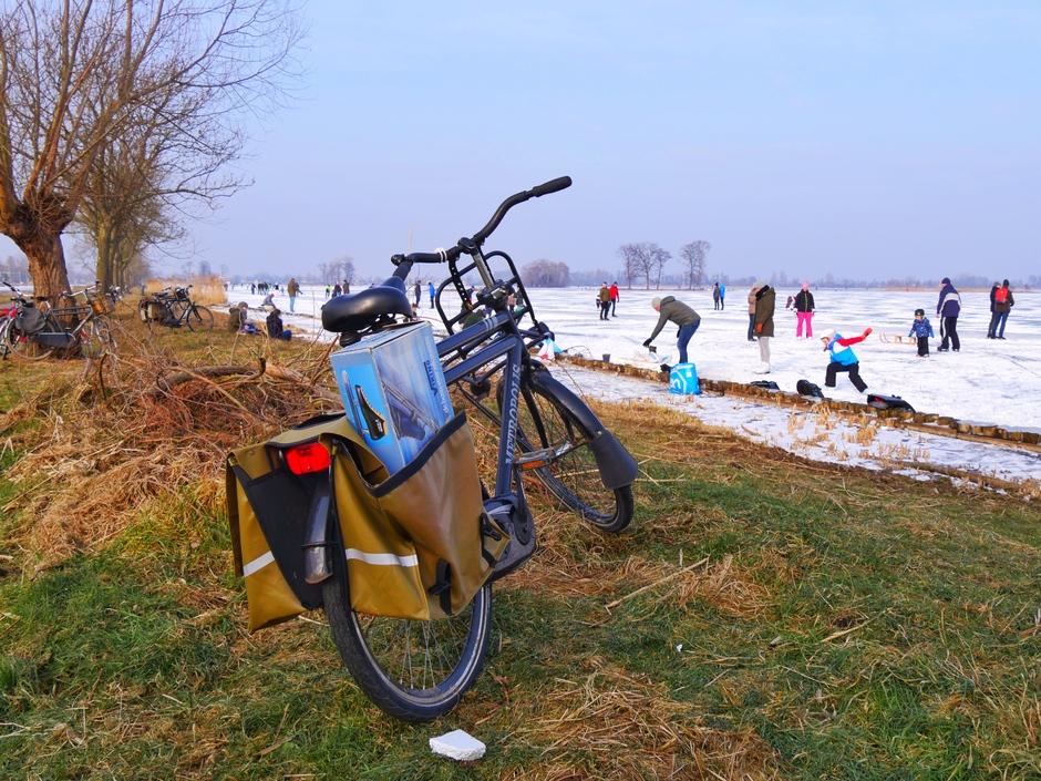 Schaatskoorts in Reeuwijk