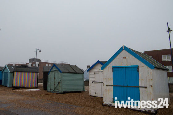 Weather damage in Felixstowe
