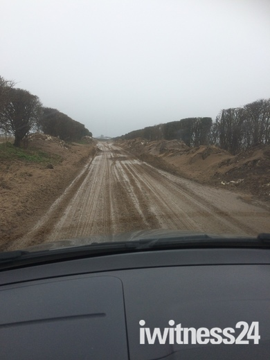 Dangerous roads around Alderton