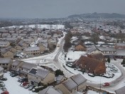 Snow in North Worle