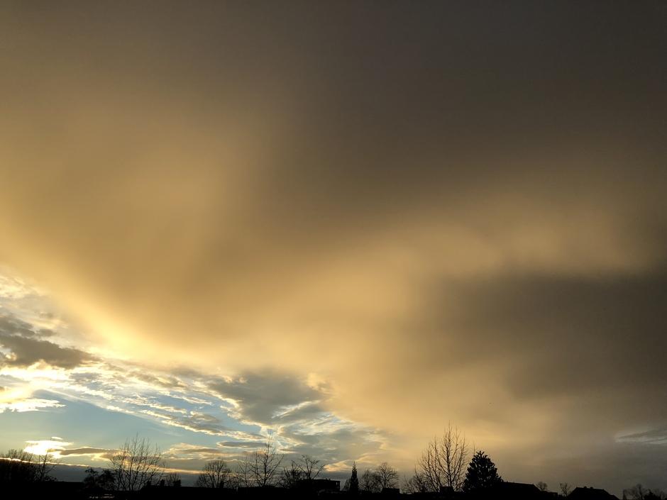 Regenwolken Harderwijk
