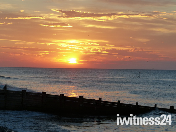 Sunset At Cromer