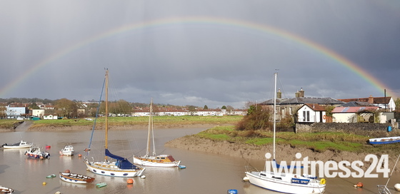 Rainbow over River Avon