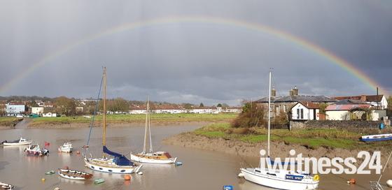 Rainbow over River Avon