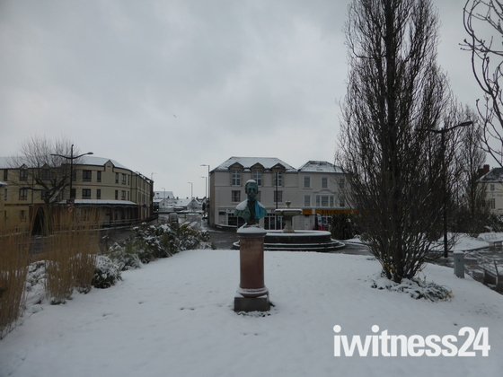 Barnstaple snow - 18th March 2018