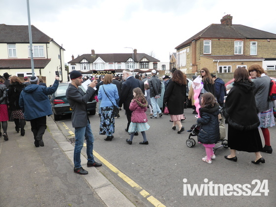 Jews Community celebrating