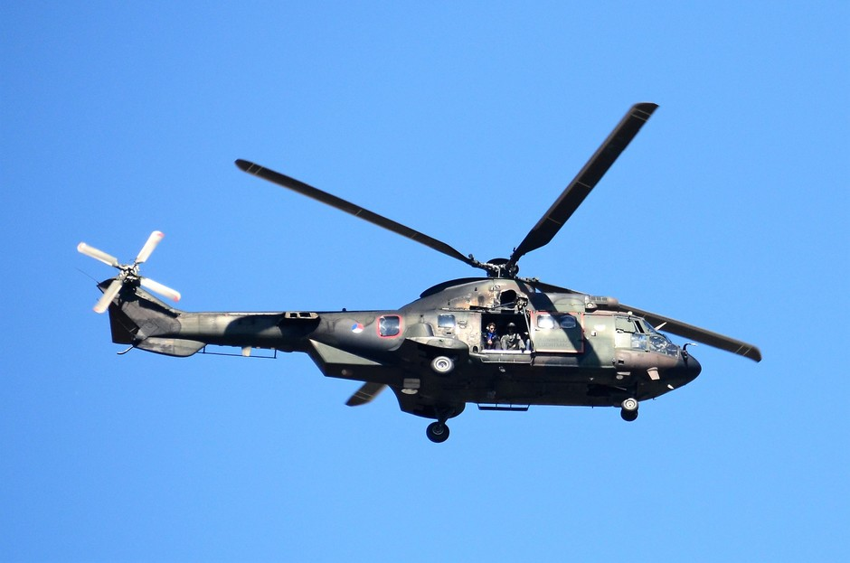 Helicopter Bevrijdingsfestival Zeeland