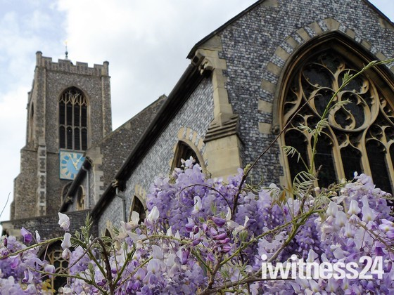 ST GILES ON THE HILL,CHURCH, NORWICH  - FINAL PART 2