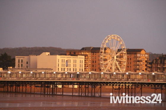 Landscapes of Weston super Mare