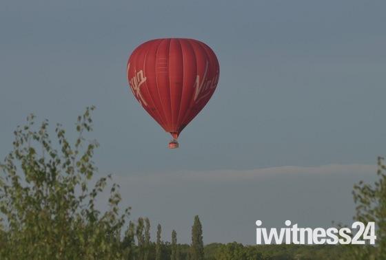 Virgin Balloon over Earl Soham