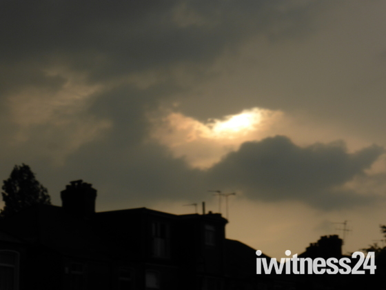 Storm over Gants Hill Ilford