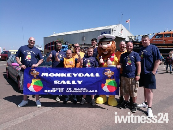 Monkeyball charity rally 2018
