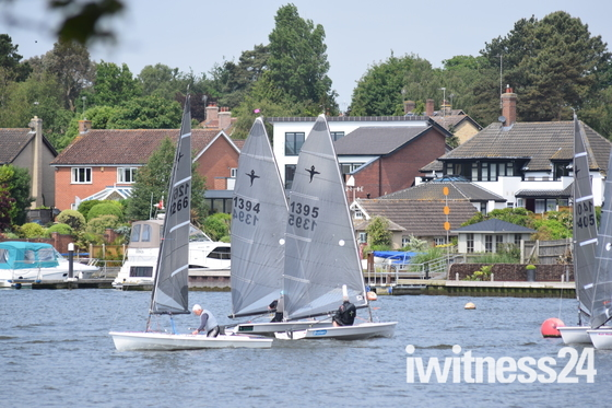 Yachting on Oulton Broad