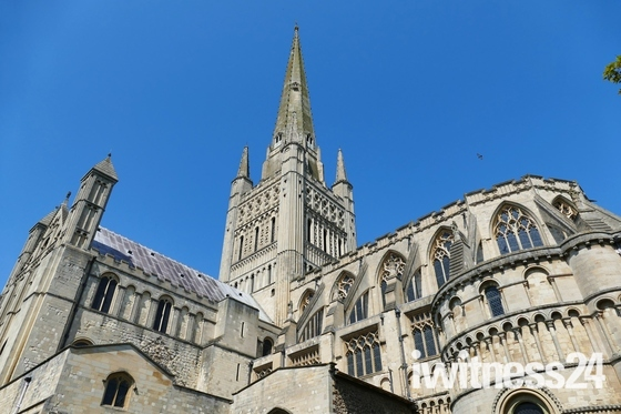 NORFOLK LANDMARKS, Norwich Cathedral