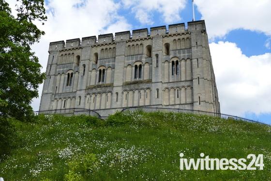 NORFOLK LANDMARKS, Norwich Castle