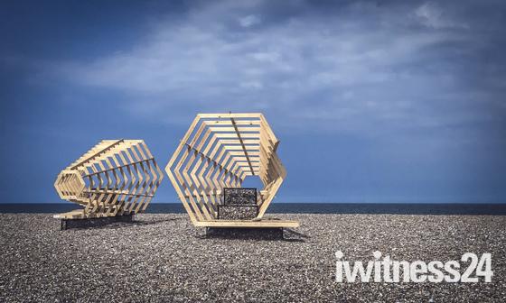 Cley Beach - Contemporary Art Festival