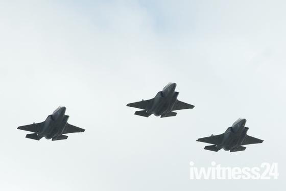 New Lightning Fighter at RAF 100 Flypast