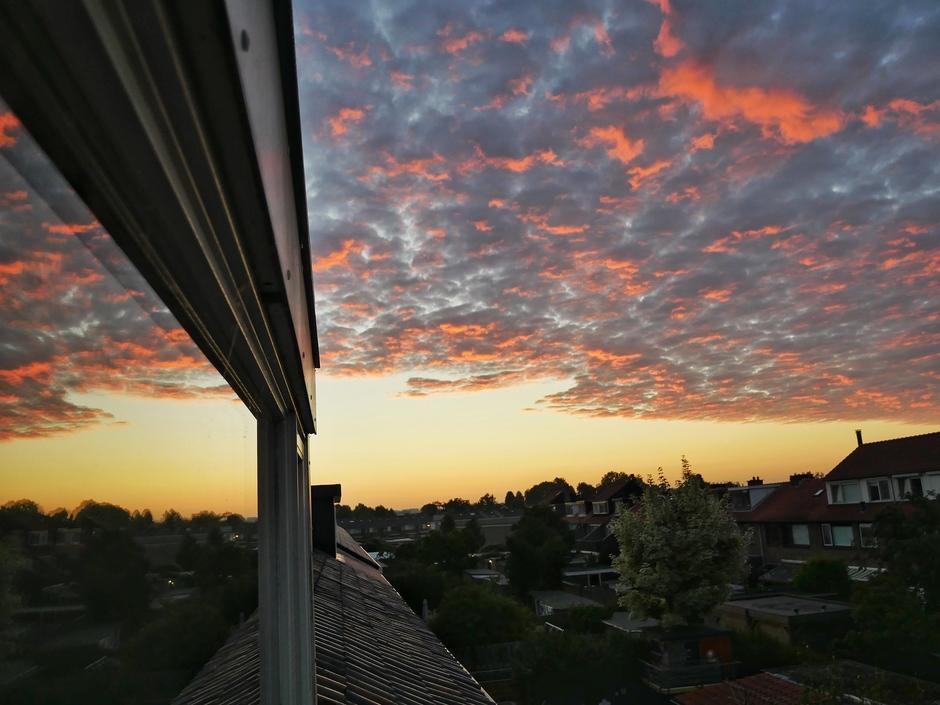 Net voor zonsopkomst