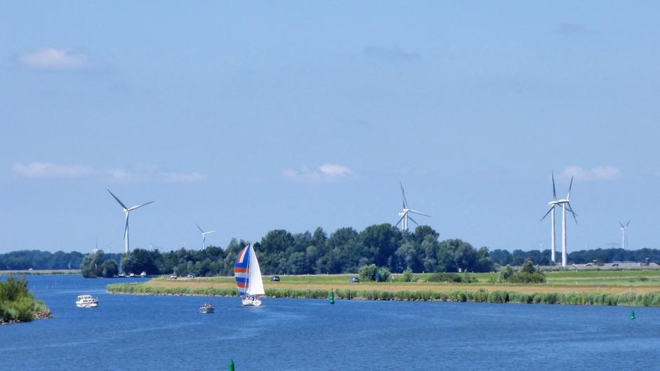 Mooi zonnig weer vandaag met voldoende wind