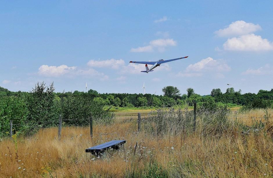 Mooi vliegweer in Schinveld