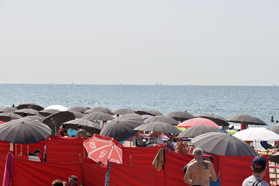 Veel parasols
