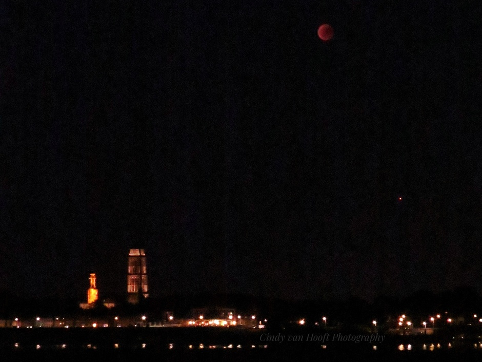 Bloed maan 27-07
