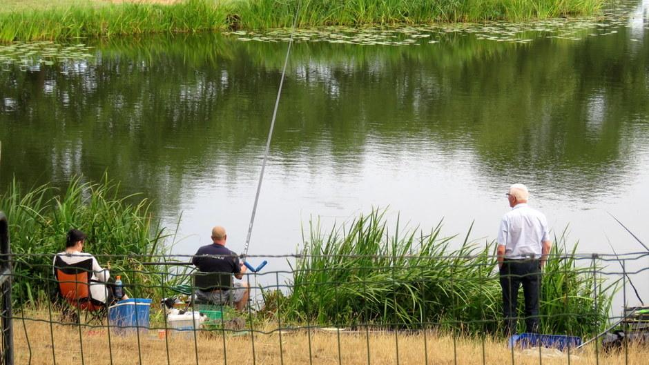 lekker weer om te vissen