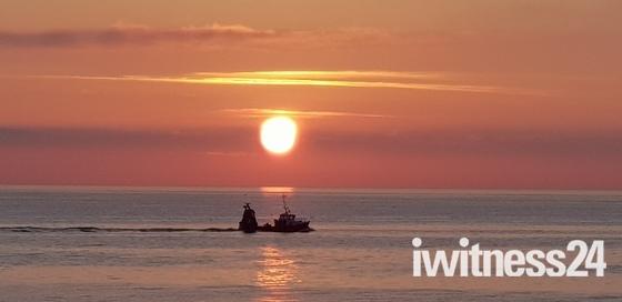 Beautiful Sunrise from Barry Head in Brixham