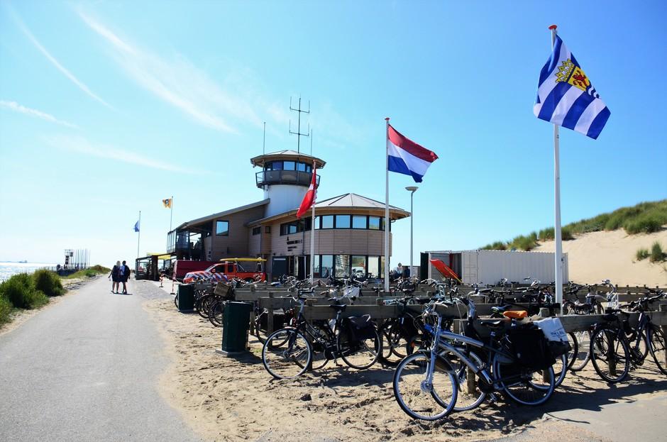 Drukke dag voor de strandwacht