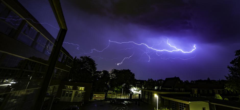 onweer te  Zwolle