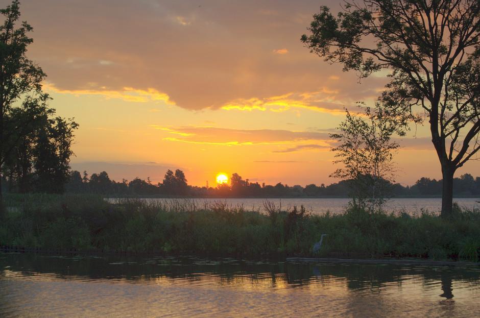 Een mooie Zonsopkomst op Vrijdag 10 Augustus!