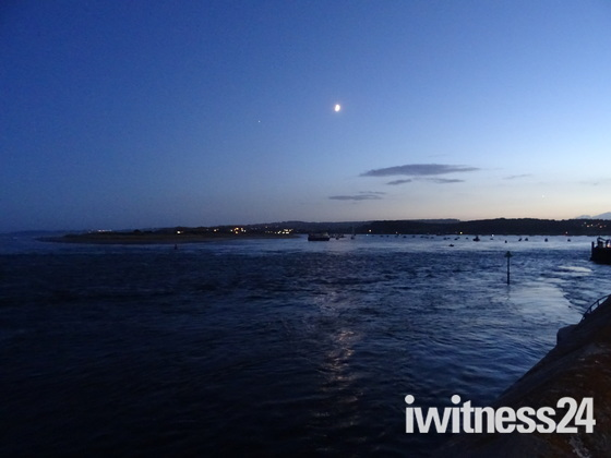 Exe Estuary after dusk
