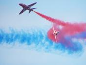 RAF Red Arrow Display Cromer 15.08.2018