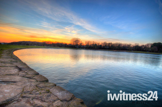 Fairlands Lakes sunset