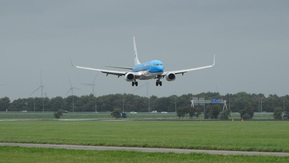 Crosswind Schiphol