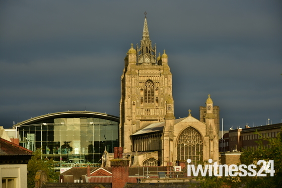 The Forum and St Peter Mancroft church