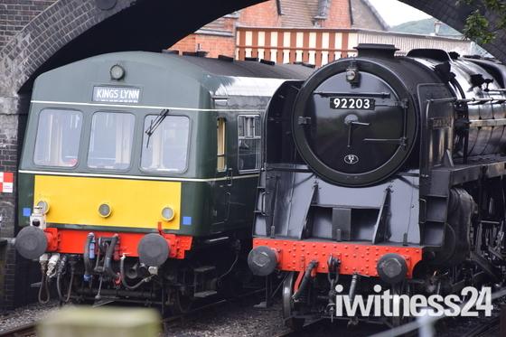 Seen on the North Norfolk Railway on Saturday