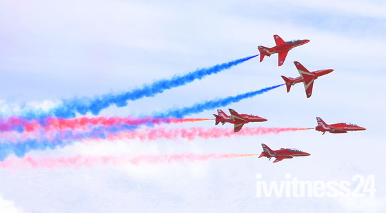 The Red Arrows At Clacton Airshow