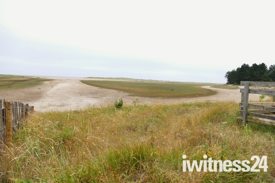 vast area before getting to the beach at Holkham