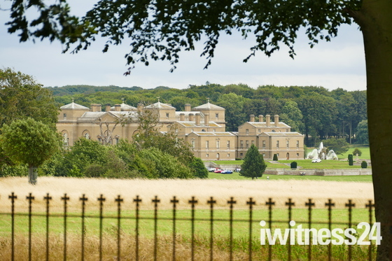 HOLKHAM HALL VIEWED FROM THE CHURCH
