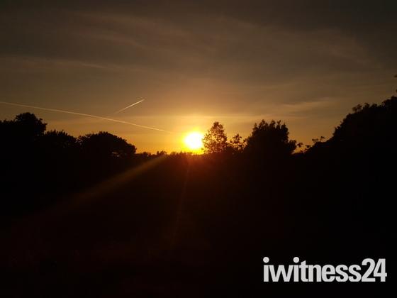 Spectular sunset