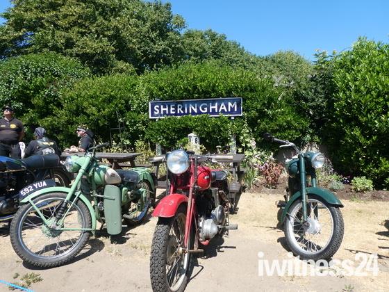 Bikes at Sheringham