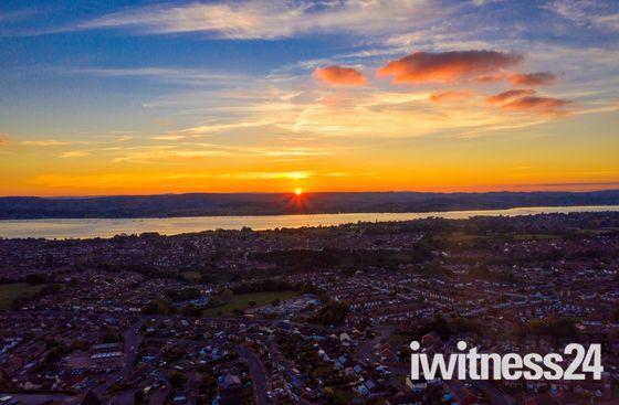 Autum Sunset Stunner over Emcouh
